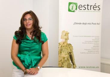 Mónica Grossoni en clase se contról de estrés