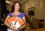 "Mónica Grossoni presetna su libro ""Salva tu vida"""